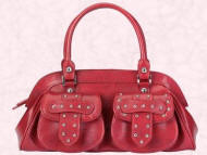 Debenhams Red Herring studded shoulder bag �22 Stockist enquiries: 08445 61 61 61